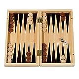 Fridolin GmbH 'FRIDOLIN 44.919,9cm Backgammon Parlour Spiel aus Bambus