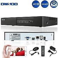 OWSOO 4CH 1080P H.264 P2P NVR CCTV Sicurezza Telefono Controllo