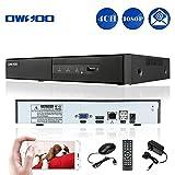 OWSOO 4CH 1080P H.264 P2P NVR CCTV Sicurezza Telefono Controllo Rilevazione di Movimento Email Allarme per Sorveglianza IP Telecamera