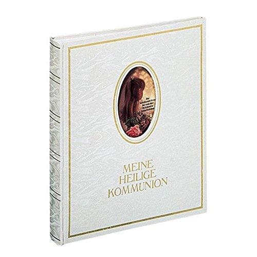 Pagna 12417-02 Kommunionsalbum 210 x 250 mm, Wechselbild, hochwertiger Kunststoffeinband mit...