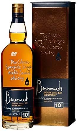 Gordon und MacPhail Benromach 10 Jahre Whisky (1 x 0.7 l) mit Geschenkverpackung