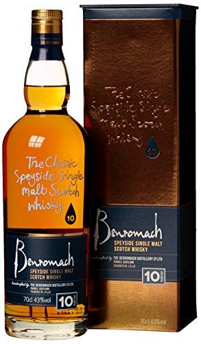 Gordon und MacPhail Benromach Whisky 10 Jahre mit Geschenkverpackung (1 x 0.7 l)