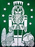 XL RETRO KULT 33 x 24 cm groß NUSSKNACKER NUßKNACKER Mann , Fensterdekoration Fensterbild, Fensteraufkleber, MADE IN GERMANY Deko Sticker, Weihnachtsdekoration, Schaufenster In- und Outdoor , Kinderzimmer, Winter Basteln Spielen Kleben, Bunte Klebebilder für das Fenster Sticker, Weihnachten Rentier Tannenbaum Geschenke Weihnachtskalender Nikolaus Engel Christmas Schneemann