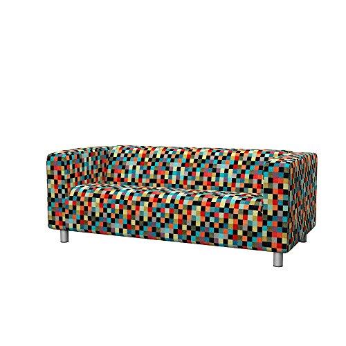 Soferia - IKEA KLIPPAN Funda sofá 2 plazas, Mozaik