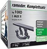 Rameder Komplettsatz, Anhängerkupplung abnehmbar + 13pol Elektrik für Ford C-MAX II (142781-08995-1)