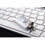 3en 1Lightning USB OTG Flash Drive 32/64/128/256GB Pen Drive para iPhone/iPad/iOS/Android/PC USB Memory Stick plata 256 GB