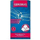 Gerobug Lebensmittelmotten-Falle x 6 + Bonus E-Book | Mottenfalle Lebensmittel zum Lebensmittelmotten-Nachweis| Persönliche Betreuung durch Schädlingsprofi | Endlich Wieder Mottenfrei