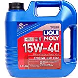 Liqui Moly Touring High Tech 15W-40 ACEA E7,ACEA A3,ACEA B4,API CI-4,API SL Fully Synthetic Petrol/Diesel Engine Oil (3.5 L)