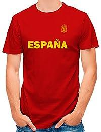 Lolapix Camiseta España Roja selección de fútbol Personalizada Nombre ...