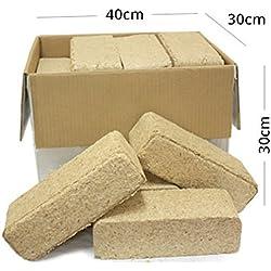 Briquetas de Madera - Caja de 20 kg