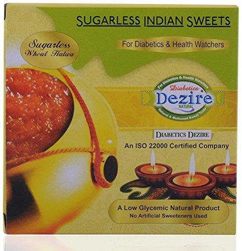 DeZire Diabetic Sugarless Samba Wheat Halwa, 250g