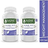 AADAR Herbals Yuva Fit Natural Weight Management and Fitness Capsules with Garcinia