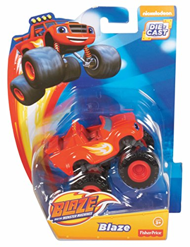 Fisher Price Nickelodeon Blaze And The Monster Machines Blaze Vehicle