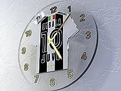 Idea Regalo - Paulo Dybala 10 - Juventus Football Club - calcio di t shirt Orologio da parete.