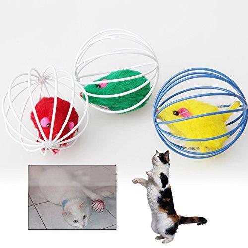Katze Spielzeug schönen Ball Maus Spielzeug für Katzen Feder lustigen Spielen Mäuse Maus Spielzeug Heimtieren niedlichen Plüsch-Spielzeug