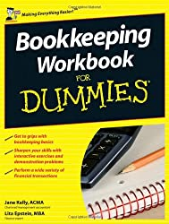 Bookkeeping Workbook For Dummies (UK Edition)