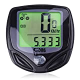 Bike Computer, Wireless Bike Accessories Automatic Wake-up Cycling Speedometer Waterproof