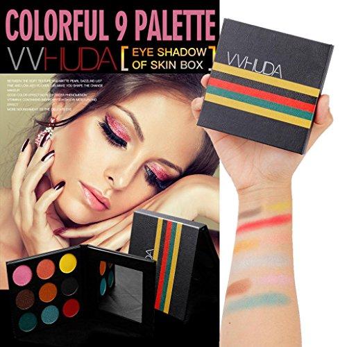 Fards à paupières,Perle paillettes oeil ombre poudre palette Matte ombre cosmétique ombre maquillage palette fard à paupières maquillage yeux ensemble de maquillage palettes par LHWY (F)