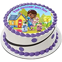 Doc McStuffin - Decoración comestible para tarta (19 cm), ...