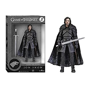 Funko 3908 Game of Thrones Toy - Jon Snow Deluxe Collectable Action Figure - Knights Watch 10