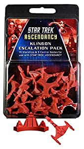 Gale Force Nine GF9ST012 Star Trek: Ascendancy Klingon Ship Pack - Juego de Cartas Importado de Alemania