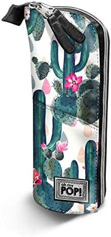Oh My Pop Pop Pop Pop! Cactus-Vertical Pencil Case Trousses, 21 cm, Vert (Green) B07CZHV8WT | Grand Assortiment  ee4320