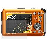atFoliX Schutzfolie für Panasonic Lumix DMC-FT3 Displayschutzfolie - 3 x FX-Antireflex blendfreie Folie