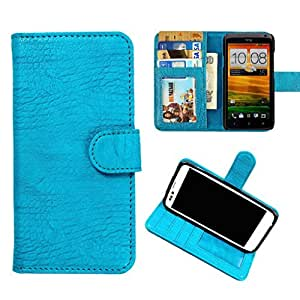 DooDa PU Leather Wallet Flip Case Cover With Card & ID Slots & Magnetic Closure For Gionee Elife E7