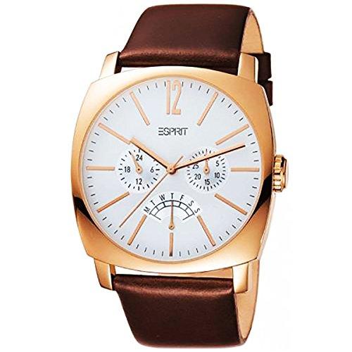 Esprit Damen-Armbanduhr Analog Quarz Leder ES102291003