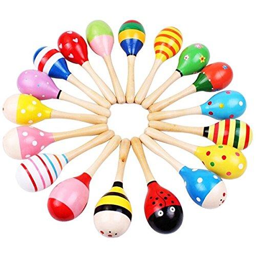 Milya 0-2 Jahre Baby-Spielzeug Sand Hammer Rassel Musikinstrument Baby Musik Rasseln Shaker