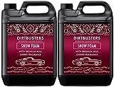 Shampoing nettoyant Dirtbusters de 5 L avec cire brillante et parfum à la cerise pour nettoyage professionnel de voiture
