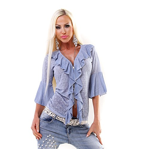 Made Italy - Gilet - Femme Bleu
