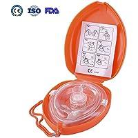Aurelius Tasche CPR Maske für Erste-Hilfe-Wiederbelebung Gesichtsmaske, Single Use mit CE & ISO genehmigt (Orange... preisvergleich bei billige-tabletten.eu