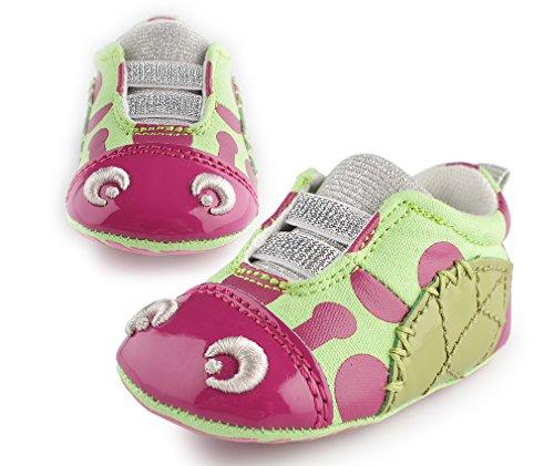 Cartoonimals Chaussures bébé enfant Chaussons Infantile Ladybug green