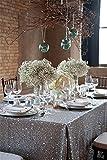 """trlyc 127x 215,9cm Rectangle élégant vives Chiffon Table à paillettes scintillant Tissu Table couleurs sont disponibles, Autre, Argent, 50""""*85"""" sequin tablecloth"""