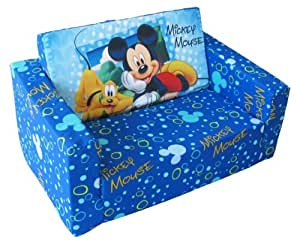 jnh kindersofa mit liegefunktion disney motiv mickey. Black Bedroom Furniture Sets. Home Design Ideas