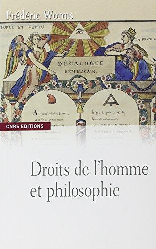 Les Droits de l'homme et philosophie par Frederic Worms