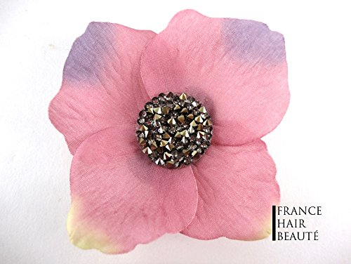 Barrette Fixation Rose
