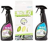 No H2O Detergente per lavare e ruota Kleen e Bug Remover Set 4microfibra