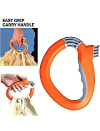 RK Enterpris One Trip Grip Grocery Multi Bags Carry Holder Handle Lock(Multi Color)