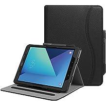 """Fintie Samsung Galaxy Tab S3 9.7 Funda, [Multi-Ángulo de Visualización] Slim Stand Case Plegable Smart Cover con Auto-Sueño / Estela para Samsung Galaxy Tab S3 9.7"""" Tablet, Negro"""