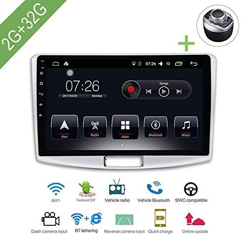 """Auto Multimedia Player 1 Din Android 7.1 Auto DVD für VW/Volkswagen Passat B6 / B7 / Magotan/CC 10.1""""2G / 32G Autoradio GPS"""