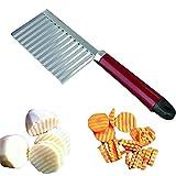 In acciaio inox patata KeeKa Schneider patatine fritte coltello Cutter onde-Schneider
