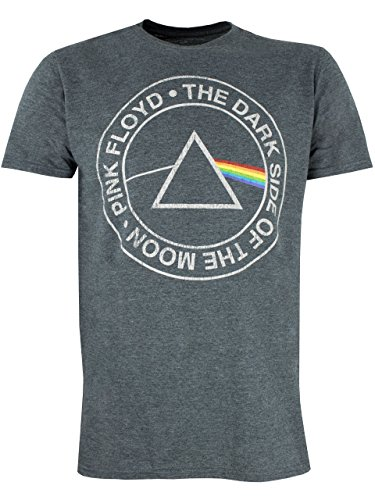 Pink Floyd - Camiseta para hombre Dark Side of the Moon - Talla Large
