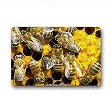 Dalliy honeycomb biene Fu?matten Doormat Outdoor Indoor 18