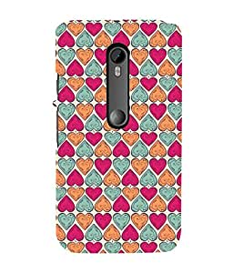 Ebby Premium 3d Desinger Printed Back Case Cover For Moto G3 / Moto G Turbo (Premium Desinger Case)