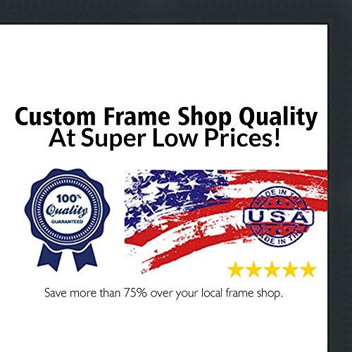 Shadow Box Rahmen-Die UV Acryl, säurefrei Unterstützung, & inklusive Hardware zum Aufhängen., holz, matte black, 5x5 -