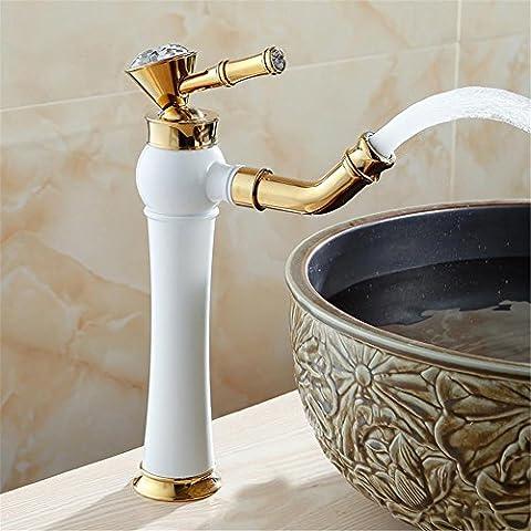 Modylee Rubinetto moderno oro, rubinetti del bagno