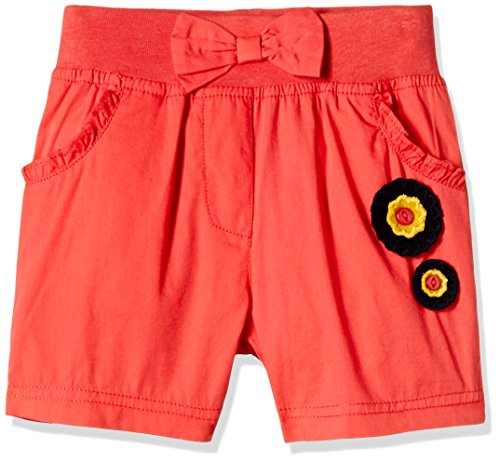 Donuts Baby Girls' Shorts (268002269_18M_CORAL)