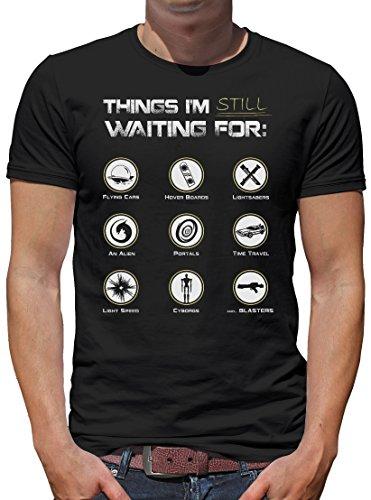 TLM Still waiting for... T-Shirt Herren XXXL (Falcon Blue Halloween Kostüm)